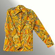 """You Can't Get Any More Disco Than This"" Vintage Sportfolio Shirt"