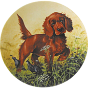 Edwin M. Knowles Collector Plate: Dogs
