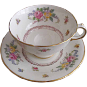 REDUCED Delphine: Charmian: Footed Cup and Saucer