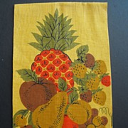 REDUCED Vintage Linen Tea or Dish Towel