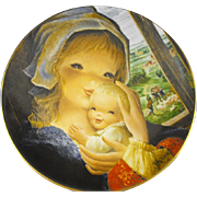 REDUCED Schmid: Collector Plate: Mother and Child