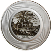 REDUCED Wedgwood Rome and Vatican Souvenir Cabinet Plate