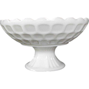 Federal Milk Glass Fruit Bowl in Yorktown: Circa 1950s