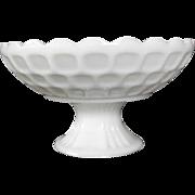 SOLD Federal Milk Glass Fruit Bowl in Yorktown: Circa 1950s