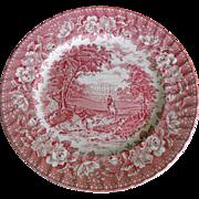 Aynsley Ironstone Plate  - England's Heritage