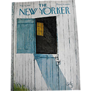 New Yorker Magazine Cover: May 18, 1968