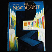 The New Yorker Magazine Cover: March 9, 1968