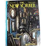 The New Yorker Magazine Cover: February 10, 1968