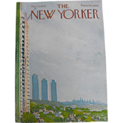 The New Yorker Magazine Cover:May 23, 1970