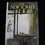The New Yorker Magazine Cover:August 19, 1976
