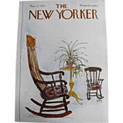 The New Yorker Magazine Cover:May 12, 1975