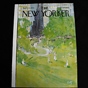 The New Yorker Magazine Cover: April 24, 1971