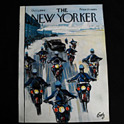The New Yorker Magazine Cover: October 3, 1964
