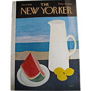 The New Yorker Magazine Cover: July 9, 1966