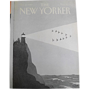 The New Yorker Magazine Cover: October 27, 1980