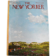 The New Yorker Magazine Cover: June 24, 1967