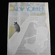 The New Yorker Magazine Cover: July 18, 1977