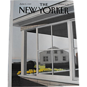 The New Yorker Magazine Cover: June 8, 1987