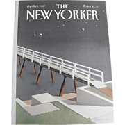 The New Yorker Magazine Cover: April 13, 1987