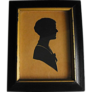 REDUCED Silhouette                                                     Circa: 1931