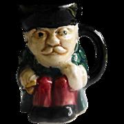 Miniature Staffordshire Toby Mug by Shorter & Son