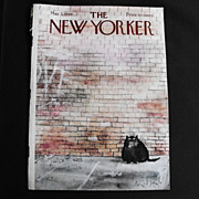The New Yorker Magazine Cover, May 3, 1969