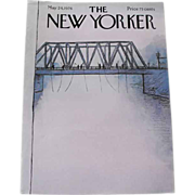 The New Yorker Magazine Cover: May 24, 1976