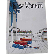 The New Yorker Magazine Cover: August 8, 1977