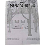 The New Yorker Magazine Cover: January 8, 1979