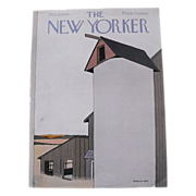 The New Yorker Magazine Cover:October 11, 1976