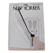 The New Yorker Magazine Cover: March 21, 1977