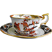 Spode Copeland Imari style cup and saucer (4 avail.) Circa: 1890-1920