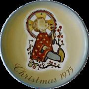 Schmid Collector Plate, Christmas, 1975
