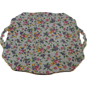 Royal Winton handled sandwich tray