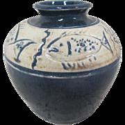 REDUCED Sylvia Coppola Fish Vase