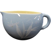 Winfield Pottery Blue Pacific Bamboo Creamer - California Pottery
