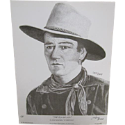SOLD John Wayne - The Ringo Kid - Stagecoach