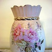 Austrian Hand Painted Porcelain Vase Signed RH