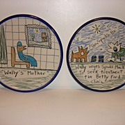Wallyware Pottery by Tom Edwards - California 1980's