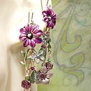 SOLD Summer Sweet ~ Out of My Mind Earrings