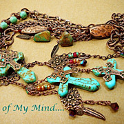 SOLD Glory Abounds ~ Out of My Mind Necklace