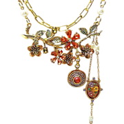 Just Peachy - Out of My Mind Necklace