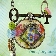 SOLD A Closer Look ~ Out of My Mind Soldered Necklace
