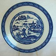 "Mason's Ironstone Plate, ""Ashworth Canton"", ""Real Old Canton"""