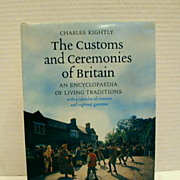 "Book: ""Customs & Ceremonies of Britain""/Charles Kightly"