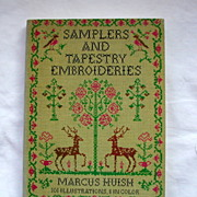 "SOLD Book: ""Samplers and Tapestry Embroideries"", Marcus Huish"