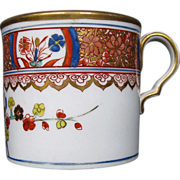 Spode Coffee Can, Kakiemon Pattern 282, Antique Early 19th C