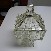 Broken Column Notched Rib Candy Compote