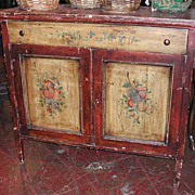 Pretty Louis Philippe Painted Buffet