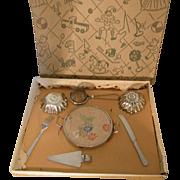 Metal Cake Set in Box